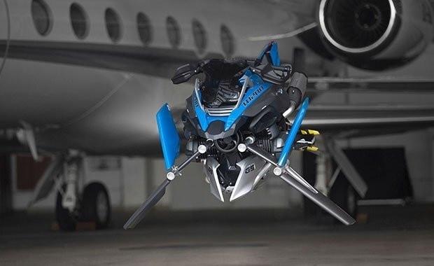 BMW,  Hover Ride ile uçurmaya geliyor - Page 2