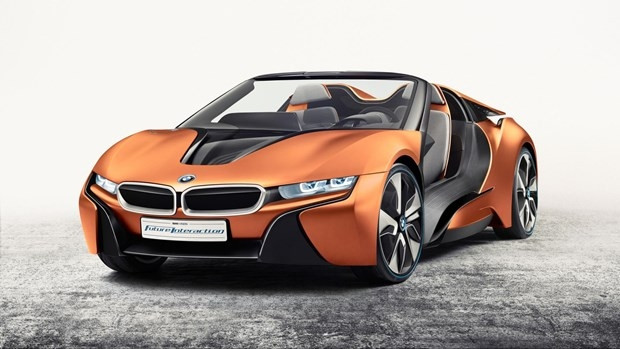 BMW i8 Roadster konseptini tanıttı - Page 4