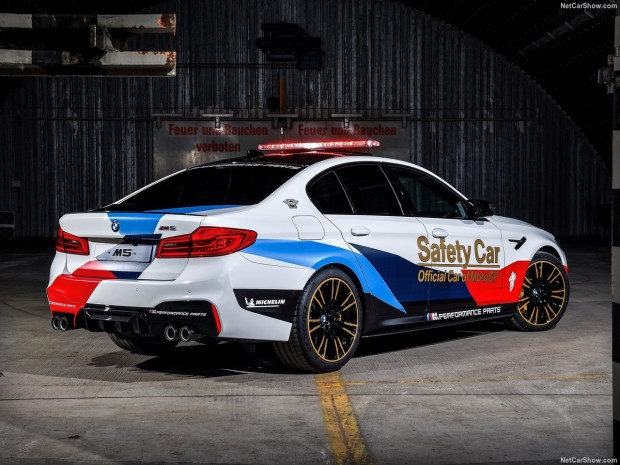 BMW M5 MotoGP Safety Car polis aracı - Page 1