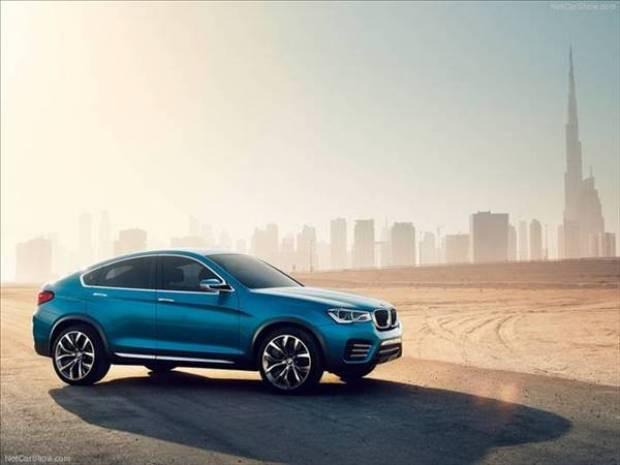 BMW X4 Concept hayranlarına göz kırptı! - Page 4
