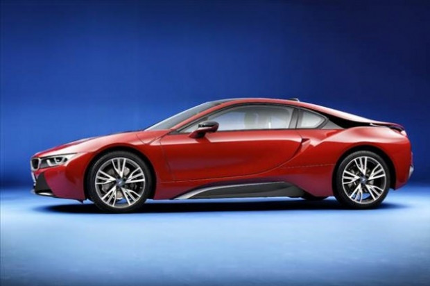 BMW'nin elektrikli sporcusu:  i8 Protonic Red Edition - Page 1