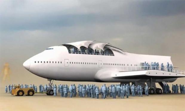 Boeing 747'nin inanılmaz dönüşü! - Page 2