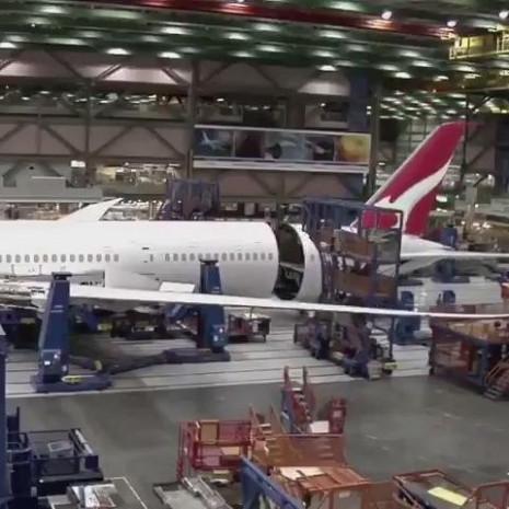 Boeing 787-9 yapılışı görüntülendi - Page 1