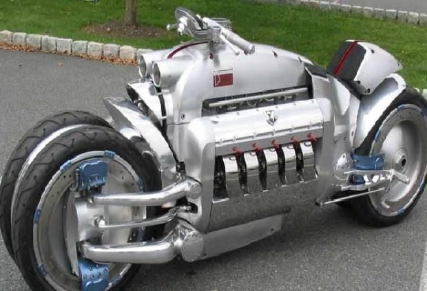Böyle motor görmediniz !!