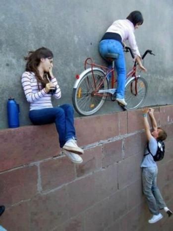 Bu fotoğraflarda duvarlar yer, yerler duvar - Page 3