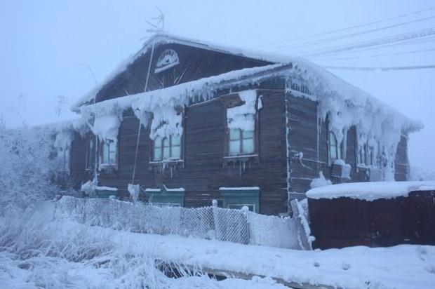 Bu köyde sıcaklık -52 derecenin altına indiğinde okullar tatil oluyor! - Page 2