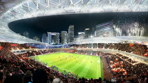 Bu muhteşem stad projesini David Beckham yaptı! - Page 1