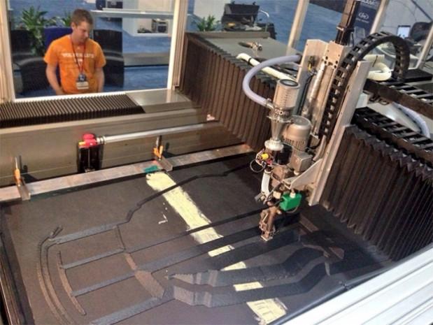 Bu otomobil 3D yazıcıyla üretildi - Page 1