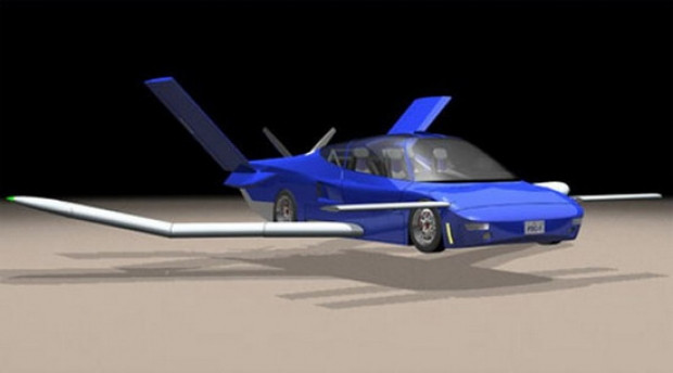 Bu otomobiller uçuracak - Page 1