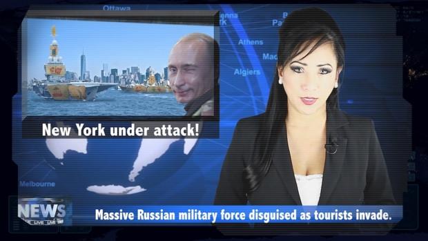 Bu oyunda, Obama ve Putin Zombilere karşı - Page 4