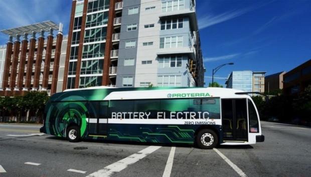 Bu şık elektrikli otobüs, tek bir şarjla 258 mil gidebiliyor - Page 1
