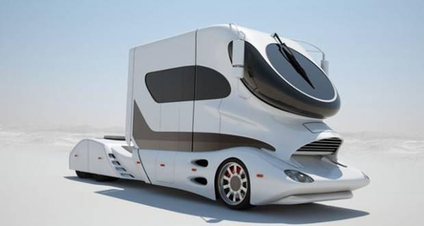 Bu tasarım ve teknoloji harikası karavanları fiyatı ise 1,9 milyon euro - Page 1