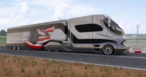 Bu tasarım ve teknoloji harikası karavanları fiyatı ise 1,9 milyon euro - Page 3