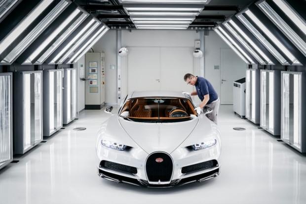 Bugatti Chiron nasıl üretiliyor? - Page 3