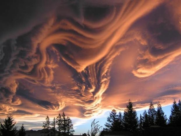 Bulutların girdiği tuhaf şekillerden bazıları - Page 3