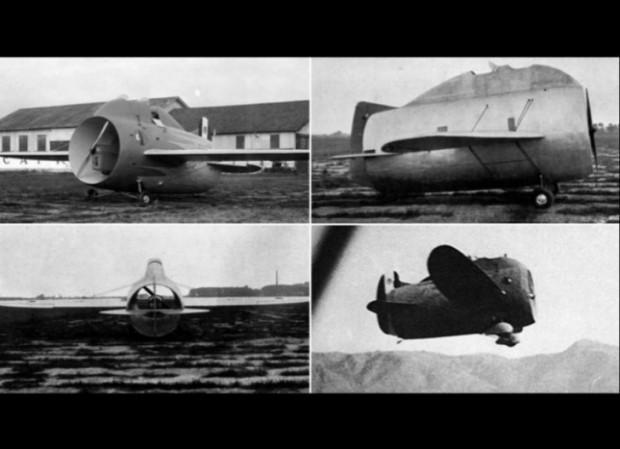 ''Bunu Çizen Mühendis Kör Oldu!'' Dedirten, Dünyanın En Saçma Tasarımlarına Sahip 10 Uçak - Page 1