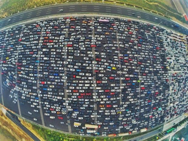 Buyrun Pekin trafiğine! 50 şeritli yol kilitlendi! - Page 3