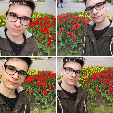 Büyük selfie kamera karşılaştırması - Page 1