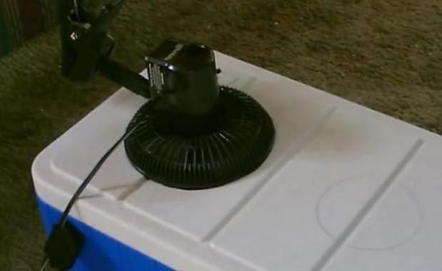 Buz termosuyla kendi klimasını yaptı - Page 2