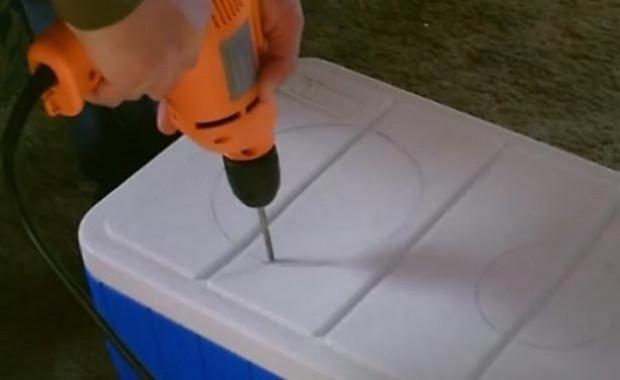 Buz termosuyla kendi klimasını yaptı - Page 4