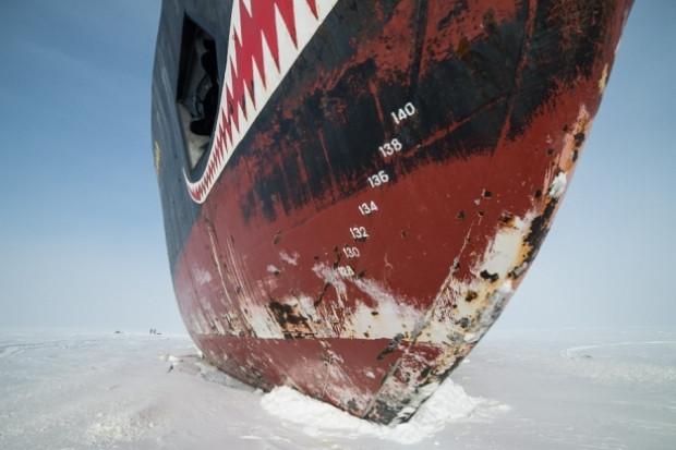 Buz tutan denizler böyle kırılıyor! - Page 1