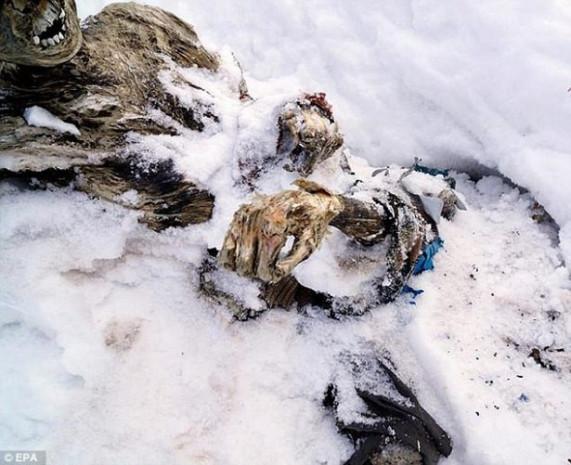 Buzlar eridi 55 yıllık cesetler çıktı! - Page 3