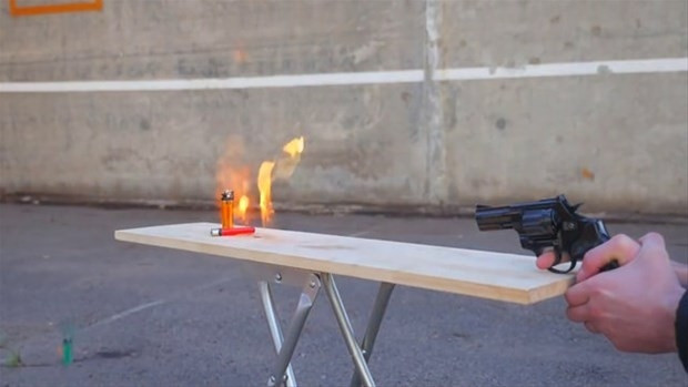 Çakmak gazının ateşle geçirdiği reaksiyon - Page 4