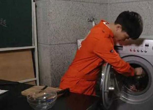 Çamaşır makinesinde yemek yapıyor! - Page 3