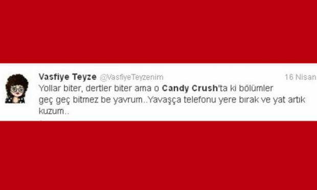 Candy Crush geyikleri Twitter'ı salladı! - Page 1