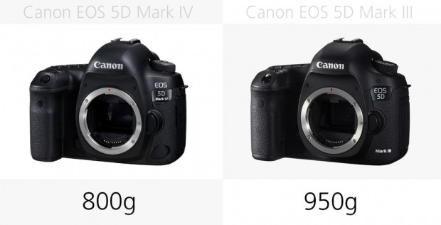 Canon 5D Mark III ve Canon 5D Mark IV karşılaştırma - Page 1
