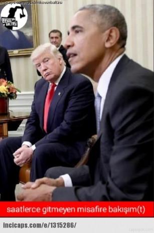 Capslerle Obama'nın gidişi Trump'ın gelişi - Page 4