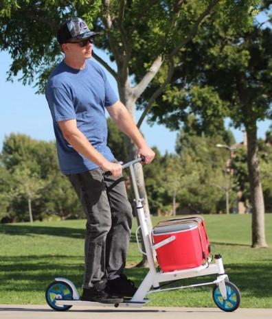 Çarşı pazar alışverişi için ideal scooter Urban - Page 1