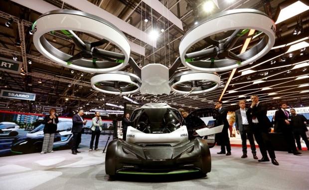 Cenevre Fuarı'na damga vuran konsept Airbus uçan otomobil - Page 1