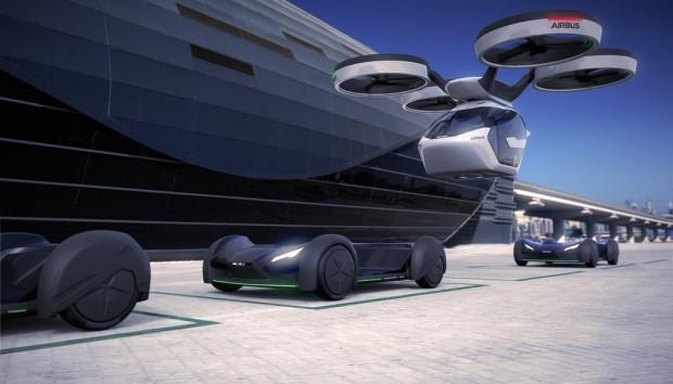 Cenevre Fuarı'na damga vuran konsept Airbus uçan otomobil - Page 2