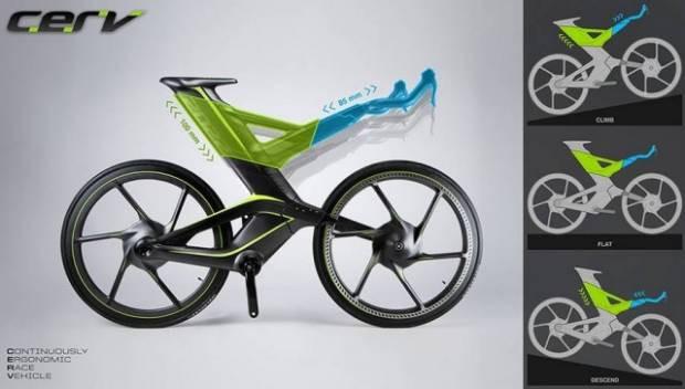 CERV kendi kendine şekil değiştiren yarış bisikleti! - Page 3