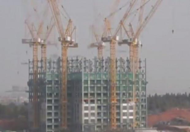 Çin 19 günde 57 katlı gökdelen yaptı! - Page 1
