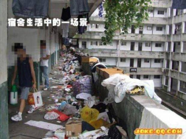 Çin öğrenci yurtları şaşırtıyor - Page 1