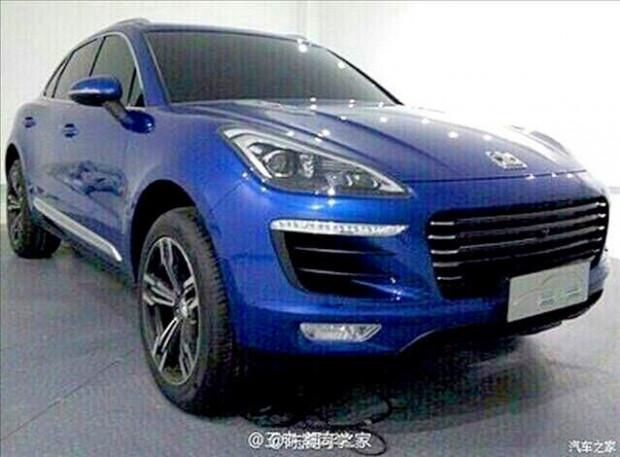 Çin, Porsche Macan'ı kopyaladı adına Zotye, SR8 dedi! - Page 3