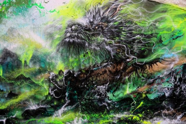 Çin sanatını batının grafiti metoduyla bütünleşti - Page 4