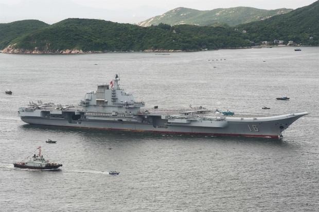 Çin'in ilk uçak gemisi Liaoning - Page 1