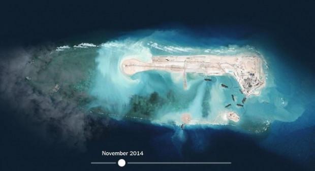 Çin'in 'yapay adası' uzaydan görüntülendi - Page 2