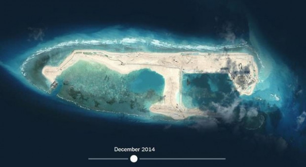 Çin'in 'yapay adası' uzaydan görüntülendi - Page 3