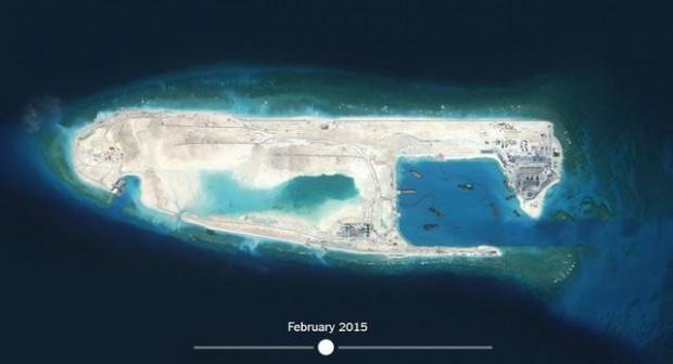 Çin'in 'yapay adası' uzaydan görüntülendi - Page 4