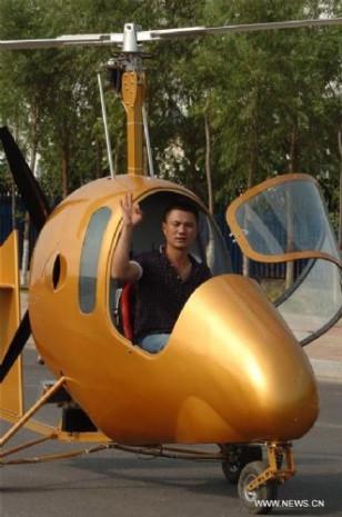 Çinli köylü kendine helikopter yaptı - Page 3