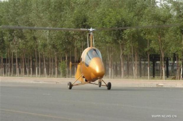 Çinli köylü kendine helikopter yaptı - Page 4