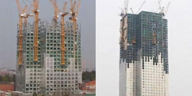 Çinliler, 57 kat yüksekliğinde bir gökdeleni 19 günde bitirdi - Page 3