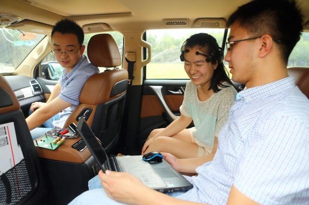 Çinliler beyin gücüyle otomobil kullandı! - Page 1