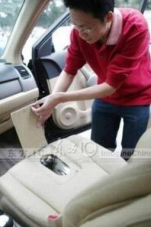 Çin'liler tuvaletli araba yaptı! - Page 1
