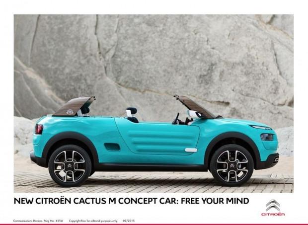 Citroen Cactus M konsepti ile bir retro maceraya atılır - Page 1