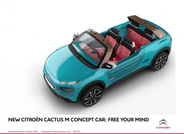 Citroen Cactus M konsepti ile bir retro maceraya atılır - Page 2